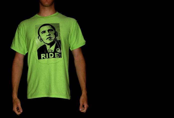 obama bicyle jersey